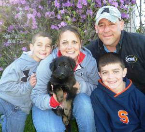 Erich, Jess, Connor, Reese And Puppy 9
