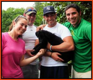 Puppy 6 Sold Photo July 7, 2012 Gina, Chris, Tommy And Richie Framed (1)