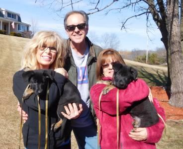 The Tarasovich Family And Lana And Samson