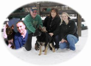 Wanda, Tom, Jen, Tommy And Bronson Photo